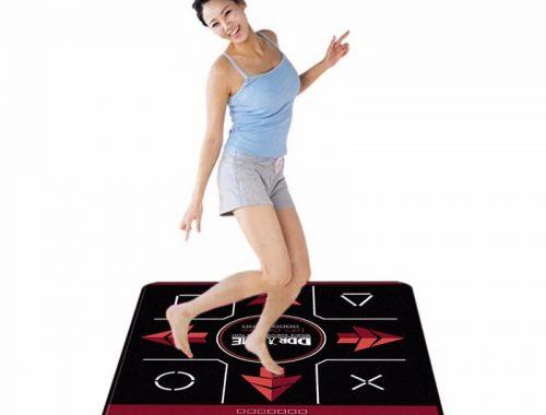 Dancing Mat Pad Fitness Equipment Dance Game Mat Blanket Black-red USB Port Non-slip Dancing Mat Pad Fitness Equipment (1)